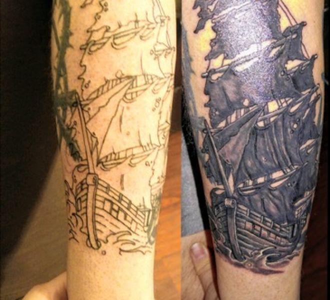 Adam G - Pirate ship