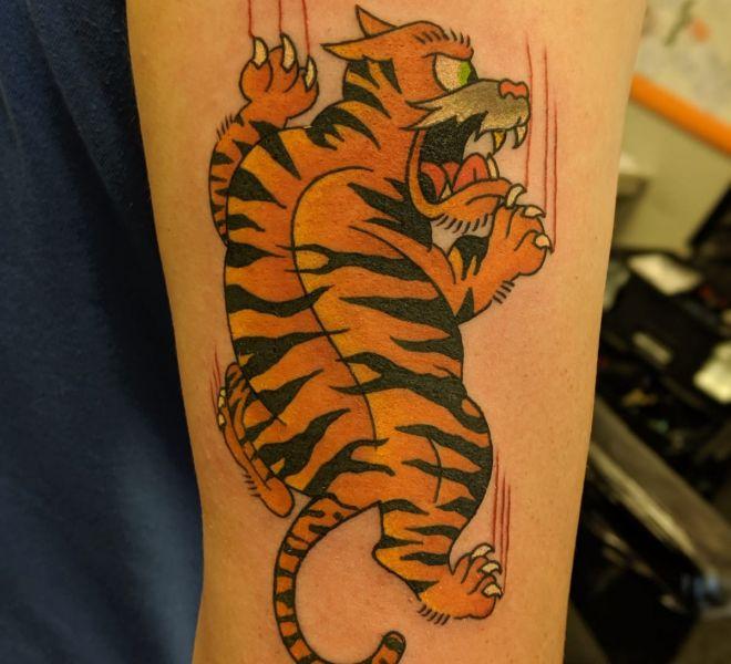 Marcus - Cartoon Tiger